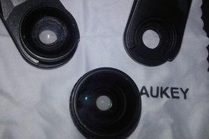 J'ai testé pour vous... AUKEY Objectif Smartphone 3 en 1 Kit Universel Clip