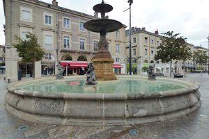 Fontaines de Castres.