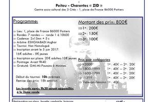 Tournoi en Charentes-Poitou