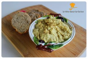 Rillettes de poulet curry