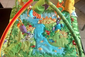Tapis Jungle Fisher Price - 25 euros