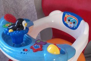 Siège de bain interactif - 15 euros