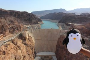 Le Pingouin au Grand Canyon !!