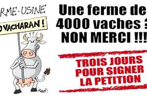 CONTRE LA FERME-USINE DES 4000 VACHES