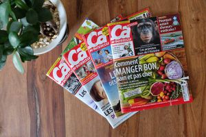 """Les magazines """"ça m'intéresse"""""""