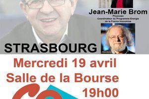 Jean-Marie Brom et Danielle Simonnet à Strasbourg, le 19 avril à 19h !