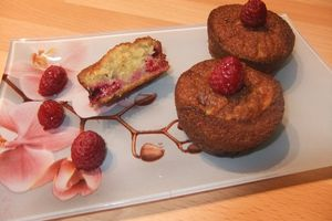 Muffins aux framboises thermomix ou pas
