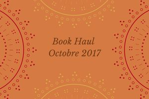 Book Haul Ocotbre 2017