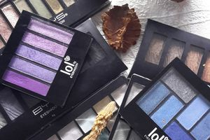 Mes palettes Bys maquillage.