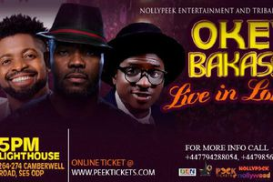 Okey Bakasi storms London, to present live
