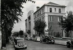 Clermont:Avenue Carnot d'autrefois