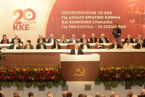 Le 20ème congrès du KKE s'est achevé avec succès