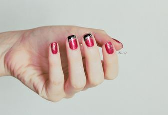Nail Art Stickers St-Valentin