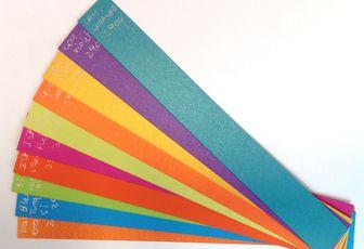Pour vos carnets personnalisés de fin d'année, jouez les couleurs !