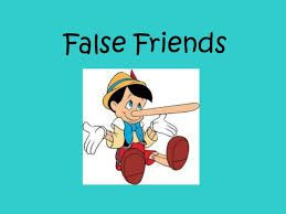false friends: furniture, chance, library