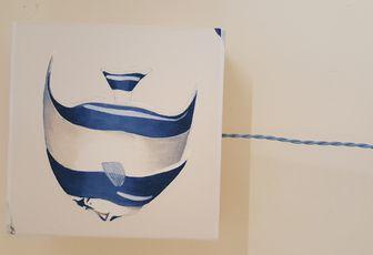 Applique Le Poisson bleu