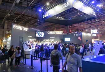 PARIS GAMES WEEK 2016 : les coulisses du stand GAME ONE avec MARCUS!