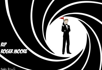 RIP ROGER MOORE 007