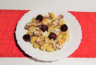 Gnocchis chorizo & champignons