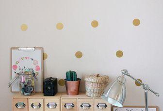 Un mur de confettis {DIY}