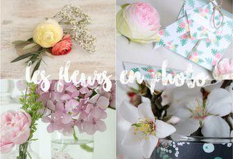les fleurs en photo {billet printanier}