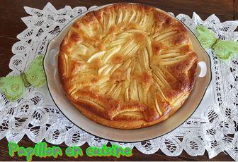 Recette: Gâteau aux pommes et au chocolat blanc