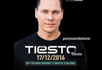 Tiësto date   Club Cubic   Taipa, Macau - december 17, 2016