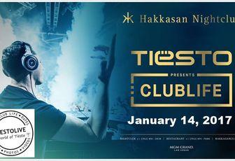 Tiësto date   Hakkasan   Las Vegas, NV - January 14, 2017   Spécial Tiesto Birthday Celebration