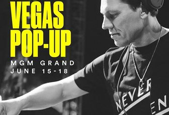 Tiësto pop up shop at Hakkasan, Las Vegas for EDC 2017
