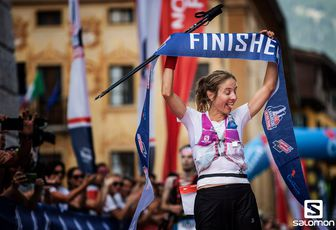 23 juin The North Face® Lavaredo Ultra Trail Caroline Chaverot et Fabien Antolinos victorieux
