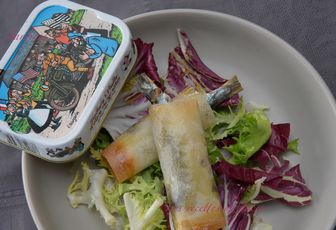 Sardines croustillantes