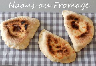 NAANS AU FROMAGE (Pain indien)