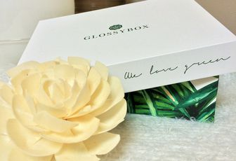 Glossybox Avril 2017 // We love green