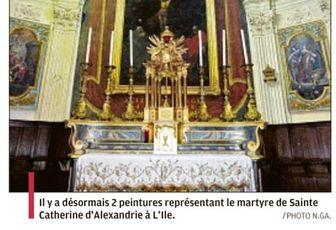 L'ÎLE SOUS LA PROTECTION DE SAINTE CATHERINE