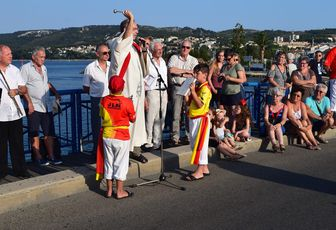 BENEDICTION SUR LA VILLE DE MARTIGUES EN DIRECT