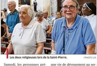 UN HOMMAGE À DEUX RELIGIEUSES DANS LA PROVENCE
