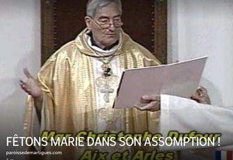 FÊTONS MARIE DANS SON ASSOMPTION !