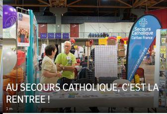 AU SECOURS CATHOLIQUE, C'EST LA RENTREE !