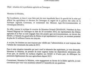 Camargue: R.CHASSAIN mobilisé
