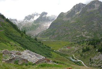 Refuge Elisabetta - Col du Chécrouit - Alpes - TMB