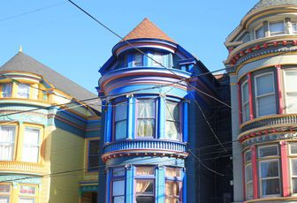 Haight Ashbury - Quartier hippy de San Francisco
