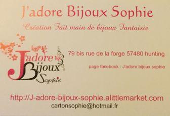 Découverte d'une créatrice - j-adore-bijoux-sophie-création de Bijoux.