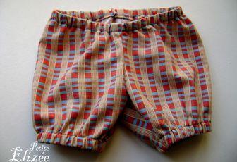 Couture : Culotte bouffante pour poupon de 40cm