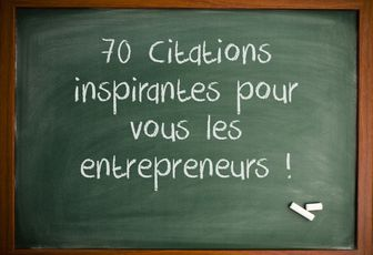 70 CITATIONS INSPIRANTES