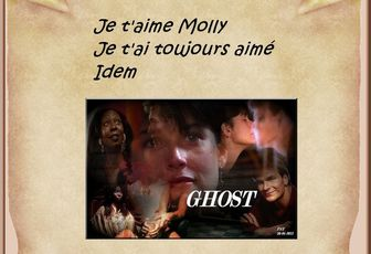Phrase culte en image dans le film Ghost
