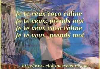 Citation de Julien Doré - Coco Câline