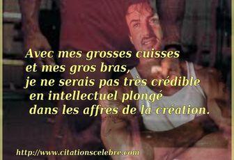 Citation de Sylvester Stallone