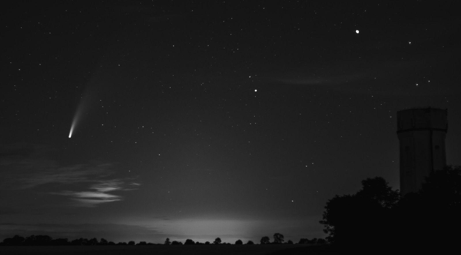 Photographie de la Comète Neowise (C/2020 F3) - 16 juillet 2020