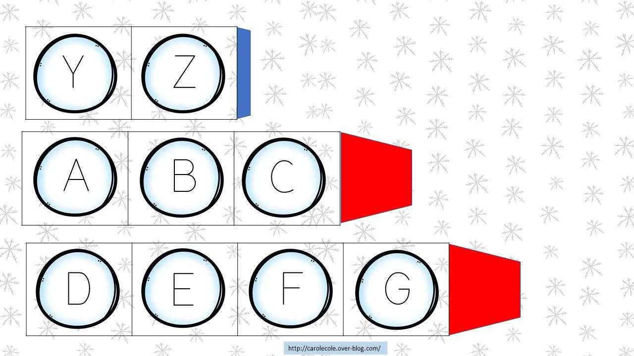 Reconstituer des alphabets