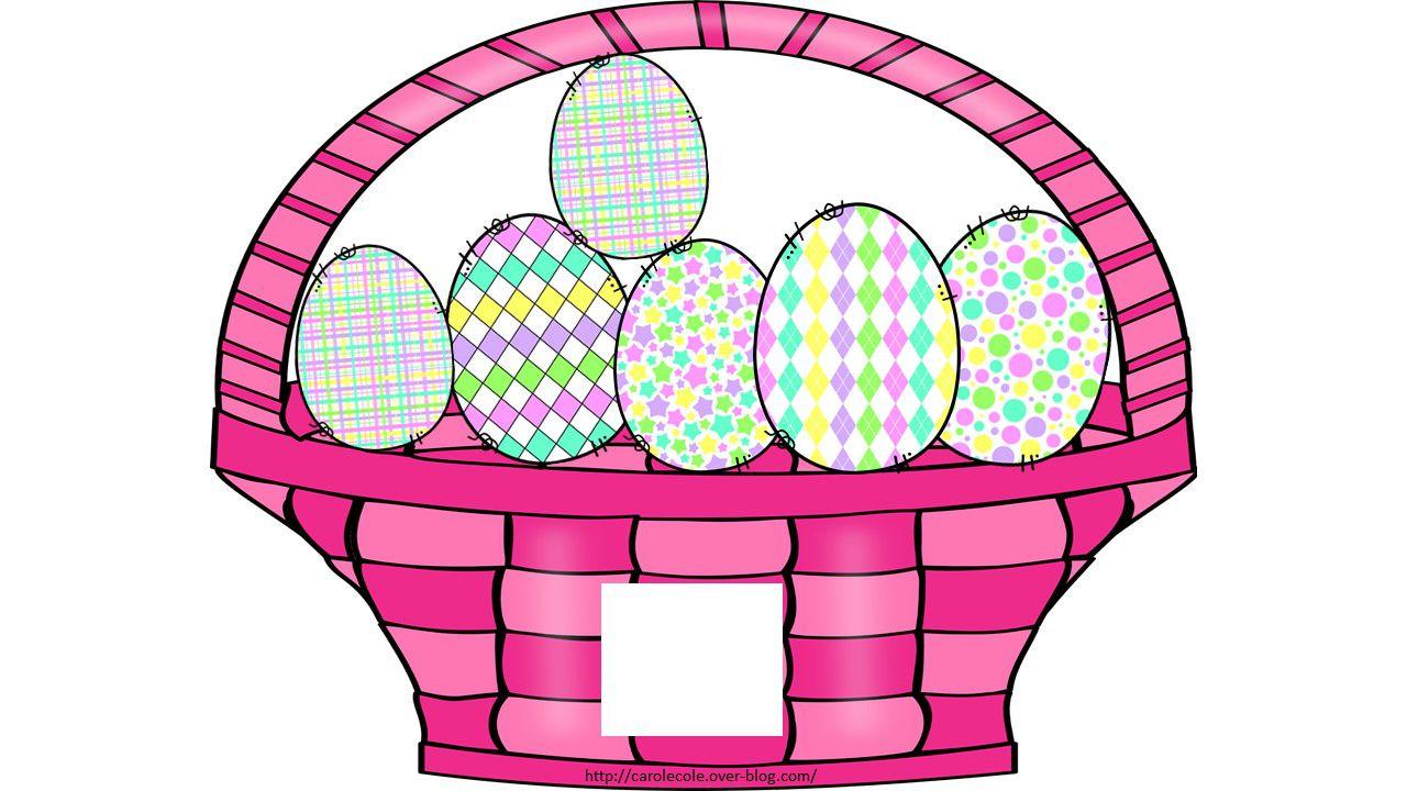 Les paniers de Pâques